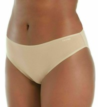 CALVIN KLEIN Womens Plus Size Stretch Cotton Bare Nude Hipster Bikini Panty NWT