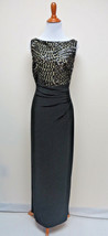LAUREN RALPH LAUREN  BEADED TOP GOWN SIZE 10 #  E 512 - $69.29