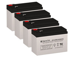 APC SMX750-NMC UPS Battery Set (Replacement) By SigmasTek - 12 Volts 9 Ah - $84.11