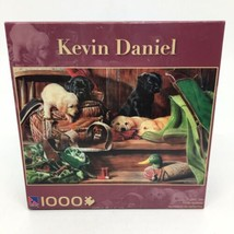 """Kevin Daniel """"Pupped Out"""" 1000 Pc New & Sealed Jigsaw Puzzle 28.75"""" x 19... - $14.95"""