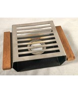 VINTAGE MID CENTURY MODERN TABLE TOP CANDLE FOOD / BEVERAGE WARMER - $25.73
