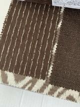 John Robshaw Umber-khaki Duralee Designer Fabric Sample Book - $58.04