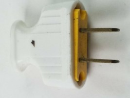Power Plug Adapter Head Socket White - $6.78
