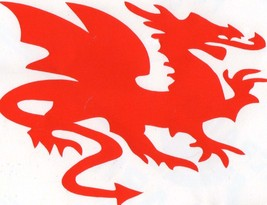 red dragon decal ideal cars, trucks, home etc easy to apply
