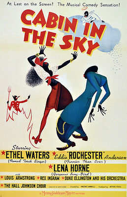 2638. Cabin in the sky. Movie Art Decoration POSTER. Home Graphic Design.