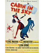 2638. Cabin in the sky. Movie Art Decoration POSTER. Home Graphic Design. - $10.89+