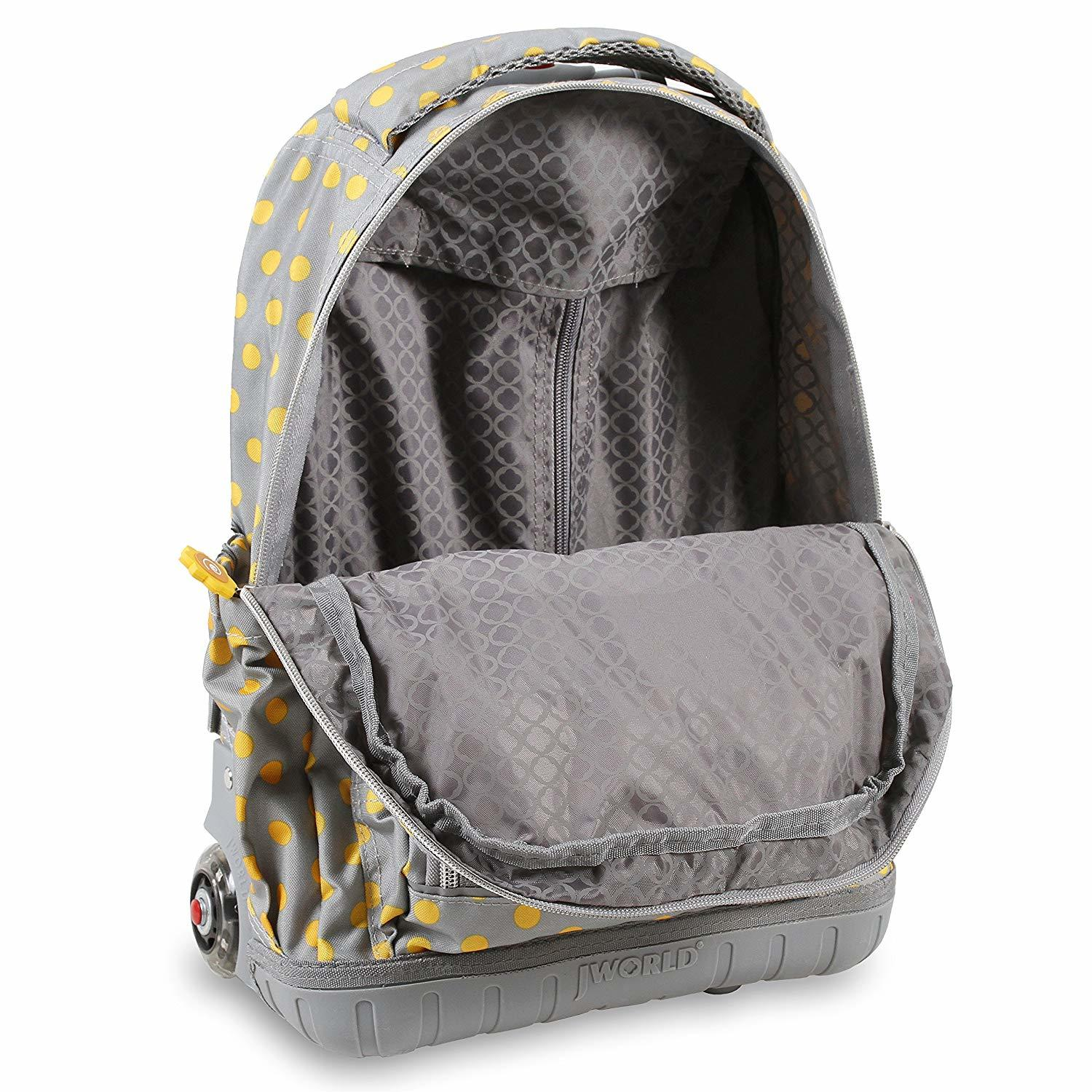 Lollipop Kids Rolling Backpack With Lunch Bag- Fenix Toulouse Handball ef3174a370312