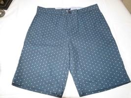 "Men's Tommy Hilfiger 36 9"" Inseam shorts 416 navy blue 78B92735 casual T... - $37.31"