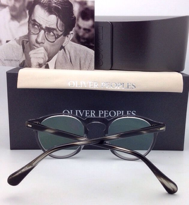 8f2b9bb648d New OLIVER PEOPLES Eyeglasses GREGORY PECK OV 5186 1484 45-23 Round Workman  Grey