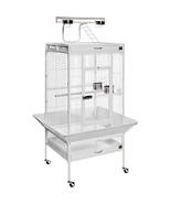 Prevue Hendryx Medium Wrought Iron Select Bird Cage - Chalk White 961-PP... - $340.25