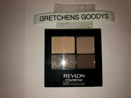 Revlon Colorstay 16 Hour Eye Shadow #500 Addictive NEW  Factory Sealed - $8.90