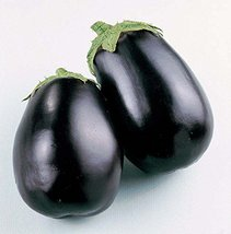 Sow No GMO Eggplant Black Beauty Non-GMO Heirloom Medium Sized Deep Purple - $2.77