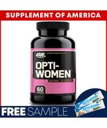 "ON Optiwomen BEST SELLING MULTIVITAMIN FOR WOMEN 60 Caps ""FREE SHIPPING"" - $12.76"