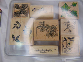 Stampin UP Nature Stamps Lot - $5.45