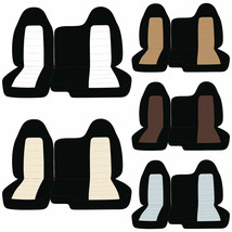 Designcovers Seat Covers 60-40 Bench Fit Chevy Colorado / Choose Your Color - $79.11+
