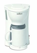 Salton FC1026 FC1206 1-Cup, White Coffee Maker - $26.47
