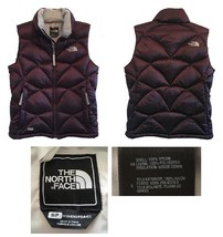 The North Face 550 Purple Down Puffer Zip Vest S - $92.00