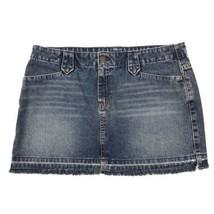 American Eagle Skirt size-10 Womens Denim Mini 100% Cotton - $31.95 CAD
