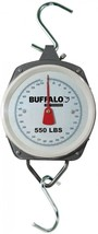 Hanging Dial Scale Outdoor Weight Hunting Butcher Fishing Analog Buffalo... - $28.62