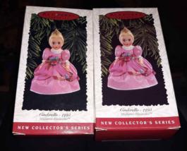 Lot 2 Hallmark Keepsake Christmas Tree Ornament Cinderella Madame Alexan... - $8.32