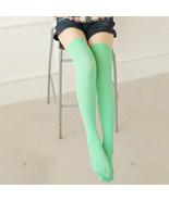 Women's Stockings, Girl High the KNEE cotton Multi-Color TQ hosiery - $12.99+