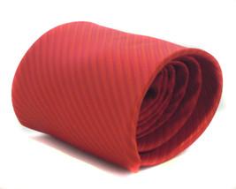 Frederick Thomas Plain Red Mens Tie FT909