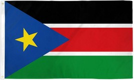 SOUTH SUDAN 3X5' FLAG NEW 3 X 5' AFRICA BANNER 3'X5' - $9.85