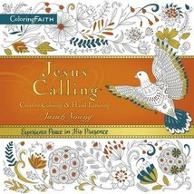 Jesus Calling Adult Coloring Book: Creative Coloring and Hand Lettering [Paperba image 1