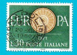 Used Italy Stamp (1960) 30 L Europa - Scott Cat# 809  - $1.99