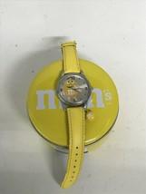 Yellow m&m watch mars 2013 M.Z. Berger Used - $8.70