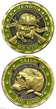 Marine Corps Army Heads We Win Tails You Challenge Coin - $16.24