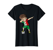 Brother Shirts - Dabbing Soccer Boy Mexico Jersey T-Shirt - Mexican Football Wow - $19.95+