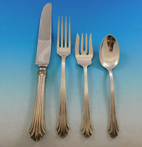 Homewood by Stieff Sterling Silver Flatware Set for 12 Service 48 pieces - $2,350.00
