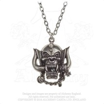 Alchemy Gothic PP505 Motorhead: WarPig Necklace Pendant - $26.70