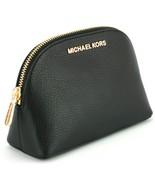 Michael Kors Jet Set Trousse de Maquillage Étui Voyage Pochette Noir Gal... - $133.06