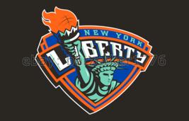 New York Liberty WNBA 3'x5' black Flag Tina Charles Tanisha Wright USA s... - $25.00