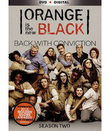 Orange Is the New Black: Season Two (DVD, 2015, 4-Disc Set) Like New - $21.84