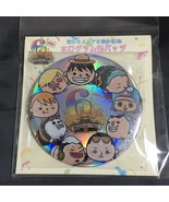 One Piece Can Badge Button Hologram Luffy Zoro Nami MUGI MUGI Eiichiro O... - $28.70