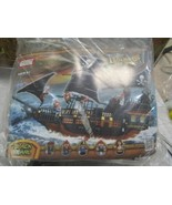 PIRATES OF THE CARIBBEAN-BLACK PEARL SHIP 652 PIECES  5 MINI FIGURES BRA... - $79.15