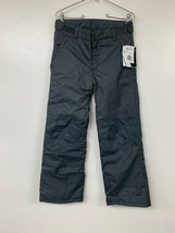 Arctix Youth Snow Pants W/ Reinforced Knees & Seat, Charcoal, Large - $17.37