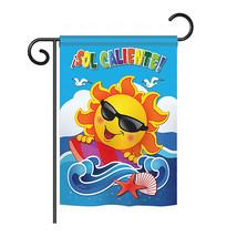 "Sol Caliente! - 13"" x 18.5"" Impressions Garden Flag - G156069S - $19.97"