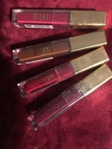MILANI BRILLIANT SHINE LIP GLOSS 4 DIFFERENT COLORS unsealed - $14.73