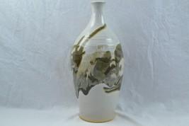 "Large Southwestern Style Vase Browns Creams 15"" - $19.95"