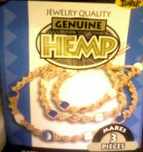 Tuner Genuine Hemp Jewelry Quality Kit 85055 3 Pieces Choker Bracelet An... - $14.67