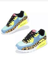 Leopard Print Ombré Fashion Sneakers - £29.08 GBP