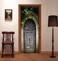 3D Arched Gate 142 Door Wall Mural Photo Wall Sticker Decal Wall AJ WALL... - $71.70+