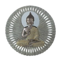 Decorative Wall Mount, Buddha Circular Bathroom Living Room Decor Wall Art - $158.34