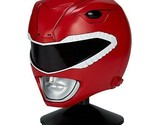Power Rangers Mighty Morphin Legacy Ranger Helmet Red Wearable Replica and Stand