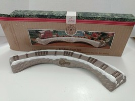 1991 Hallmark CLAUS & CO RR Train Trestle Display Only.  Ornaments Not I... - $9.90