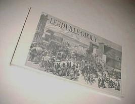 Leadville-Opoly Board Game Colorado Pride Dist. Beta Sigma Phi Sorority New - $89.09